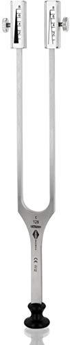 Stimmgabel Rydel-Seiffer mit abnehmbare Dämpfer c128/64 Hz - Made in Germany