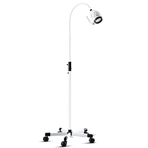 Wanjia Dental Teeth Whitening Lampe, 21W LED Mobile chirurgische medizinische Untersuchungsleuchte...