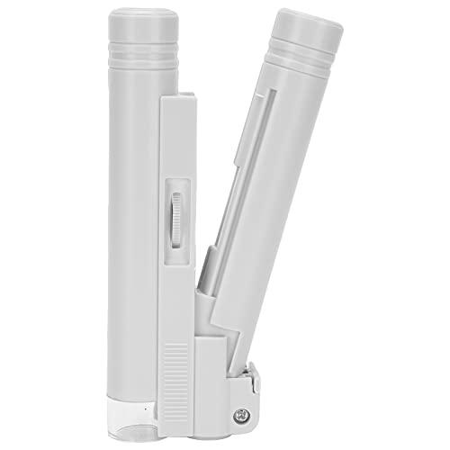 Schmuckmikroskop, LED-Mikroskop 40X Tragbares Mikroskop Tragbares Mikroskop für Beobachtungsteile
