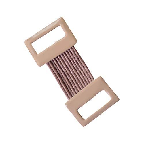 Guangcailun 50pcs Verbandklammern Aluum Verband Buckle elastischer Gummi Einstellbare Bandschließe