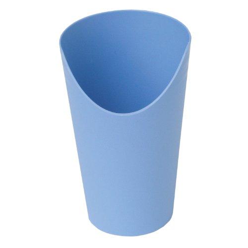 Trinkbecher Becher mit Nasenausschnitt Farbe: hellblau *Top-Qualität zum Top-Preis*