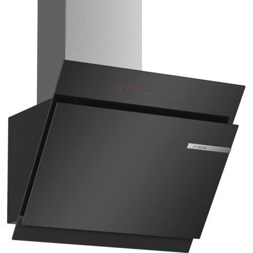 Bosch DWK67JQ60 Serie 6 Wandesse / A / 60 cm / Klarglas Schwarz / wahlweise Umluft- oder...