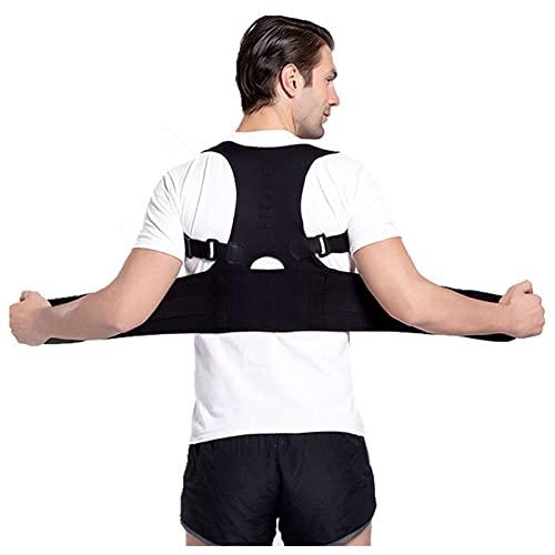 YSHUAI Rückenstütze Haltungskorrektor für Frauen Männer, Rücken Lendenwirbel verstellbare...