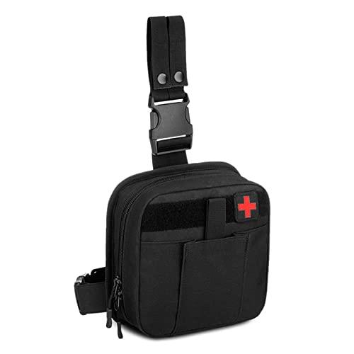 Selighting Taktisch Beintasche Wasserdicht Notfalltasche Erste Hilfe Tasche Militär Hüfttasche...