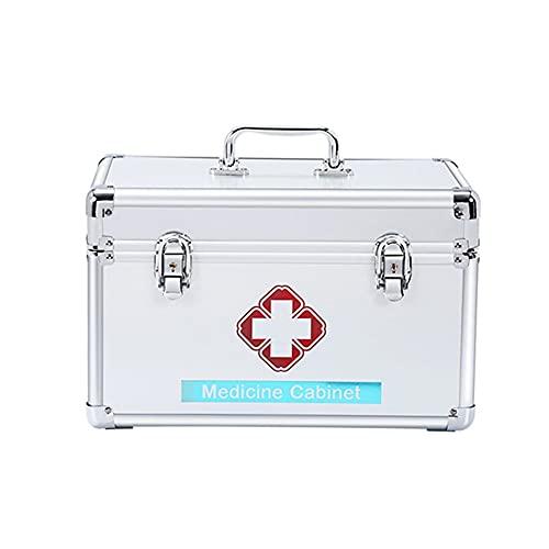 Cheaonglove Medikamentenschrank Medikamentenkoffer Erste Hilfe Zinn Erste Hilfe Boxen Große...