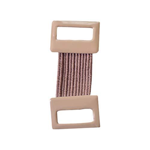 teng hong hui 50pcs Verbandklammern Aluum Bandage Schnalle Verstellbare Bandverschluss elastische...