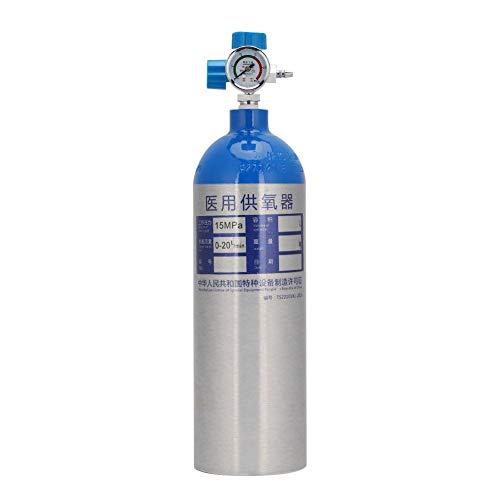 FILFEEL Sauerstoffflasche, 2L Professional Sauerstofftankflaschen Set mit Rucksack, tragbar für den...