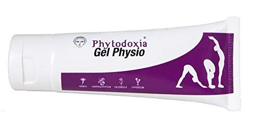 Physio Gel 75ml | Schmerzgel Entzündungshemmend stark | Schmerzlinderung für Rücken, Knie, Nacken...