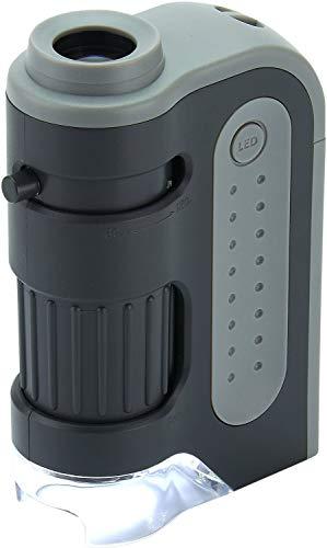 Carson MM-300 MicroBrite Plus 60x-120x LED Taschenmikroskop mit asphärischem Linsensystem