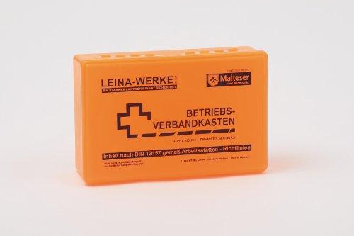 Leina Werke Verbandskasten DIN 13157 m. Wandhalterung Betriebsverbandskasten