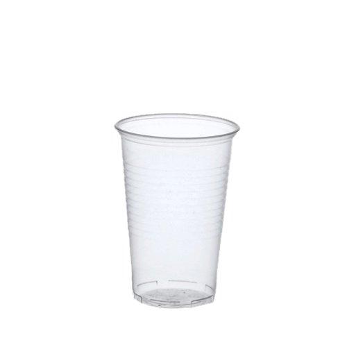 Papstar Plastikbecher / Kunststoffbecher 0.3 l transparent (100 Stück) ø 7.8 cm, Höhe 11.3 cm mit...