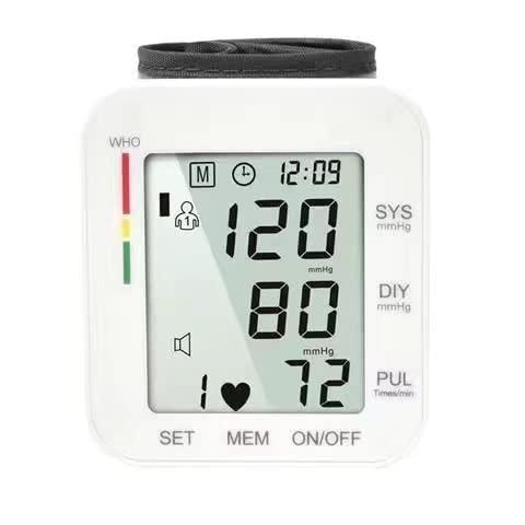 Blutdruck-Monitor-Sprachübertragung, Blutdrucküberwachung Genaue Automatik große LCD-Anzeige...