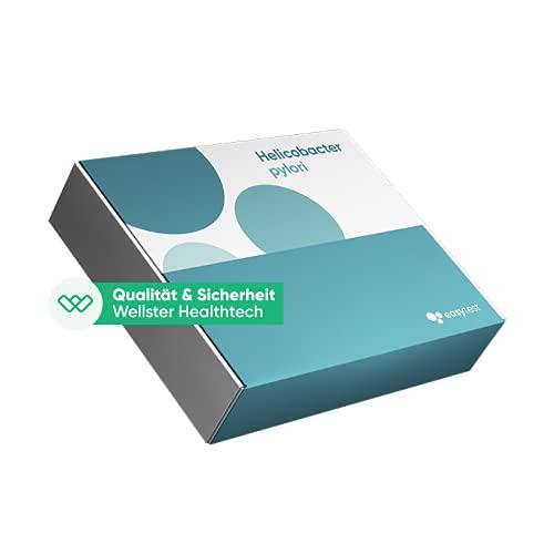 EasyTest Helicobacter Pylori (Gastritis) - schnell easy zu Hause testen, Zertifiziertes Labor 100%...