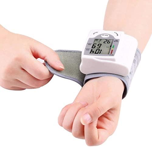 Handgelenk Blutdrucküberwachung digitaler LCD-Bildschirm Herz-Beat-Zähler tragbarer...