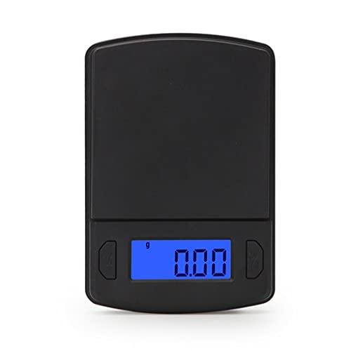 KLOVA Digitale Laborwaage 500g x 0,01g Präzisions-Elektronikwaage LCD-Display Analysenwaage...