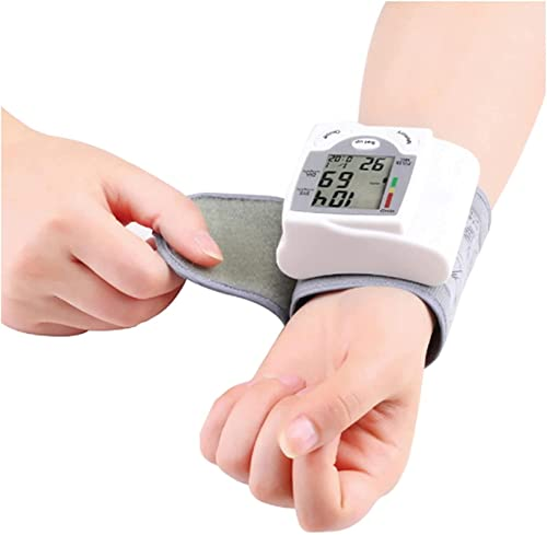 Tragbarer Blutdruckmonitor, automatischer digitaler Handgelenk-Pulszähler,...