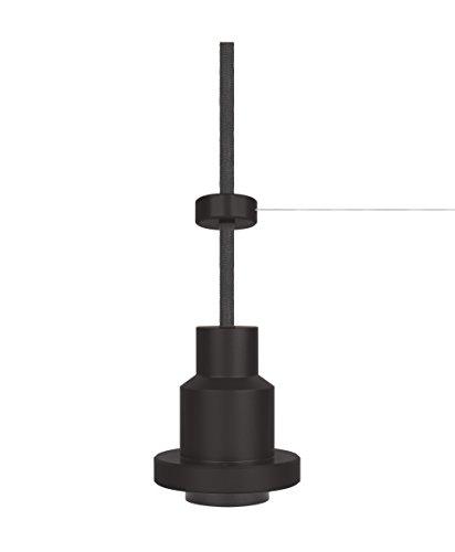 Osram Vintage Edition 1906 Pendulum, schwarz, E27 - Fassung, Deckenleuchte, flexibles Zugseilsystem,...
