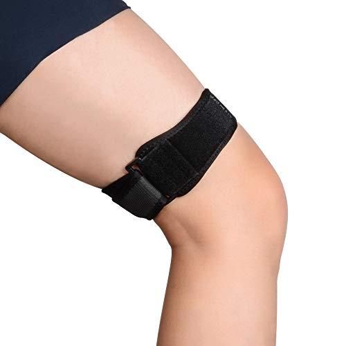 SupreGear Patella Kniebandage, ITB Bandage für Knie, Verstellbar Knee Strap Support, Bequem,...
