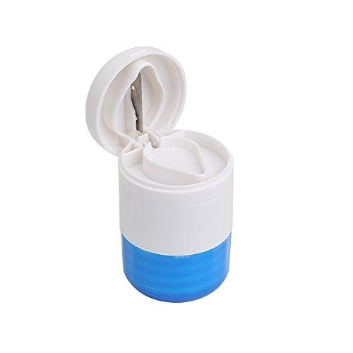 Shintop Tabletten Dose, Mühle, und Schneider 3-in-1 Multifunktionale Tablettenmörser und...