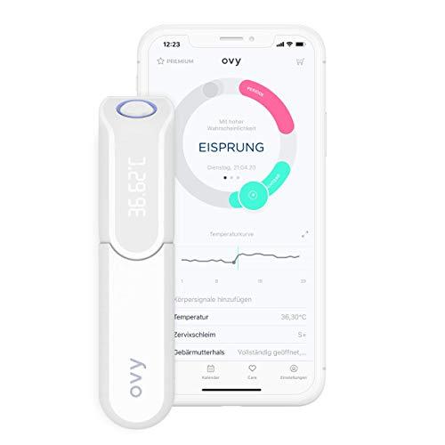 Ovy® Bluetooth Basalthermometer zur Zykluskontrolle | Mit App (iOS & Android) | Kinderwunsch,...