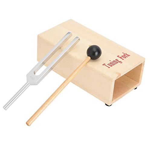Stimmgabeln, Stimmgabelhammer, kompakte 440-Hz-Stimmgabeln zur Förderung der Entspannung Verbessern...