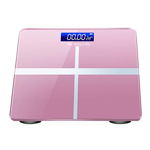 zNLIgHT Waage | Digitale Temperaturanzeige Home Waage Gewichtswaage Körperfett-Analysegerät –...