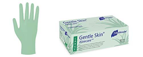 100 Latex-Handschuhe Gentle Skin® Aloecare™ in Größe S - puderfrei