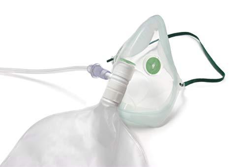 Intersurgical EcoLite™ Sauerstoff-Maske, Erwachsene, hohe Konzentration, mit Beutel