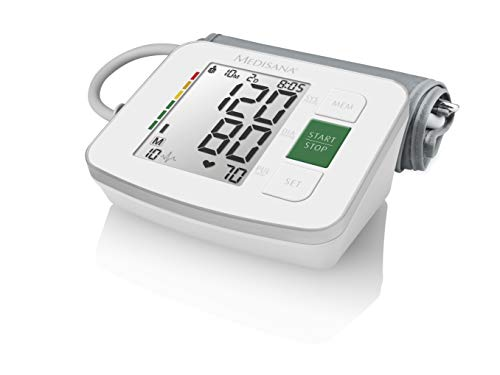Medisana BU 512 Oberarm Automatisch 2 Benutzer - Blutdruckmessgeräte (Oberarm, Automatisch, Weiß,...