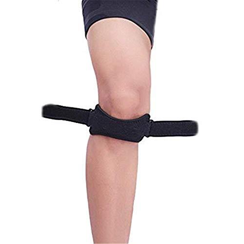 CHRONSTYLE Patella Bandage, Verstellbarer Kniebandage Kniegurt Knee Strap Knieschutz für den Sport...