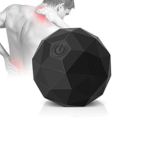Elektrischer Massageball mit Vibration, 2 Geschwindigkeits Triggerpunkt-Massage Yoga Rücken...
