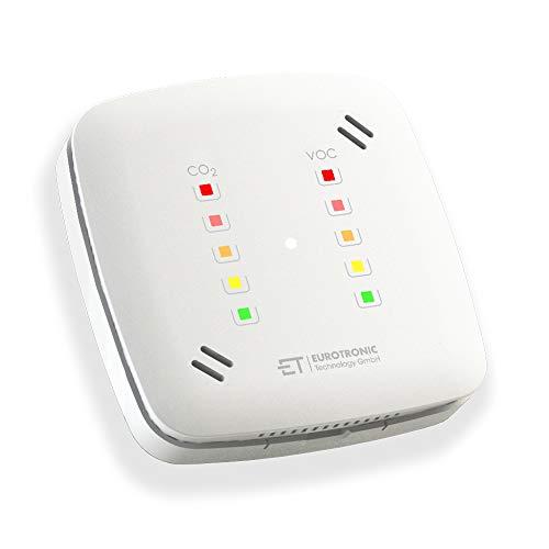 Eurotronic 700209_01 Luftgütesensor, Sensor für verbesserte Luftqualität, Luftsensor für VOC- &...