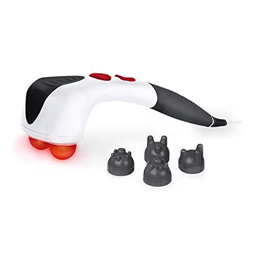 Promed ITM Pro Handmassagegerät, elektrisches Klopfmassagegerät, zuschaltbare Wärme und Rotlicht,...