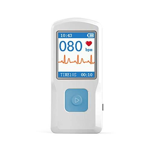 EKG Herzfrequenz-Überwachungsgeräte, Tragbare mobile EKG ECG Elektrokardiogramm-Maschine,...