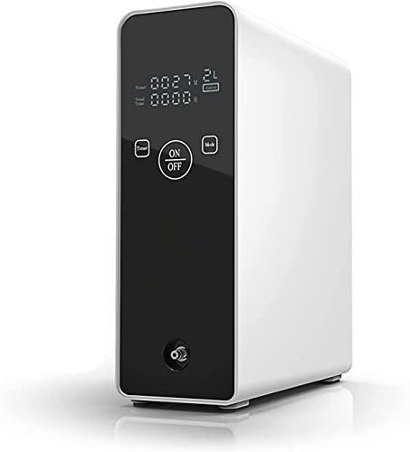 Wanjia Tragbarer Sauerstoffkonzentrator, 1-2 l/min Einstellbarer Luftreiniger Sauerstoffgenerator...