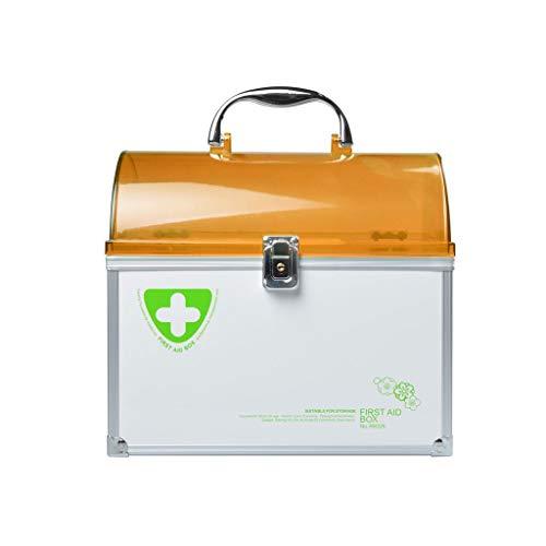 Medizin-Kasten-Familien-Doppelschicht-medizinischer Erste-Hilfe-Kasten-Droge-Aufbewahrungsbehälter...