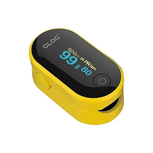 Sasstaids Pulsoximeter für den Finger, tragbar, professionell, SPO2-Messung, 4 Richtungen...
