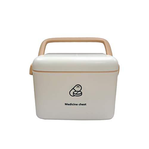 AIWEIYER Multifunktionale medizinische Box Tragbare diagnostische Medizinbox Aufbewahrungsbox...