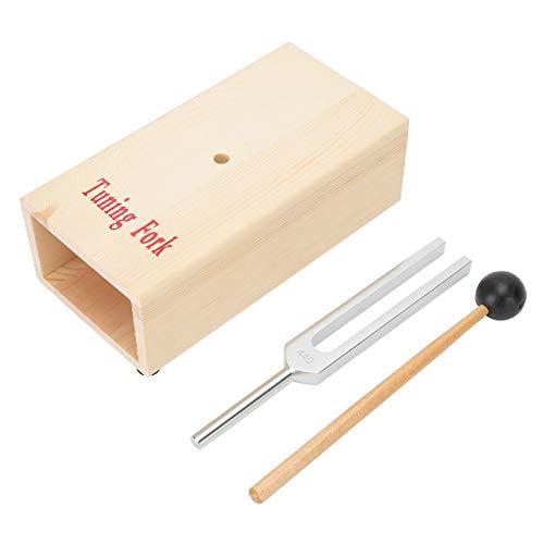 Stimmgabelhammer, feste 440-Hz-Stimmgabeln, kompaktes Stimmgabel-Set, zur Verbesserung der...
