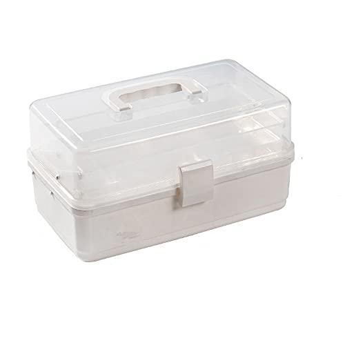 Aufbewahrungsbox für Haushaltsfahrzeuge, Medikamente, Spielzeug, 3 Schichten, tragbar, Medizin-Box...