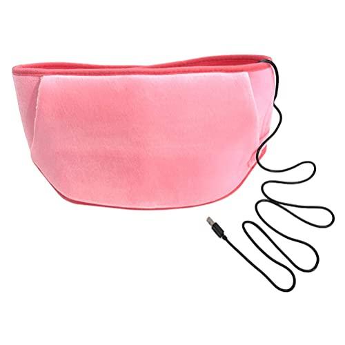 BSTCAR Wärmegürtel Heizkissen Heizgürtel Ferninfrarot, Wärmegürtel Heizgürtel Rücken USB...