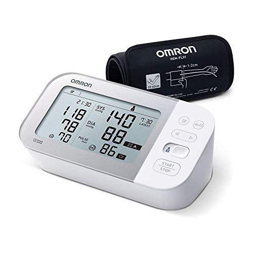 Omron X7 Smart Blutdruckmessgerät – Smartes Blutdruckgerät mit AFib-Erkennung und Bluetooth –...