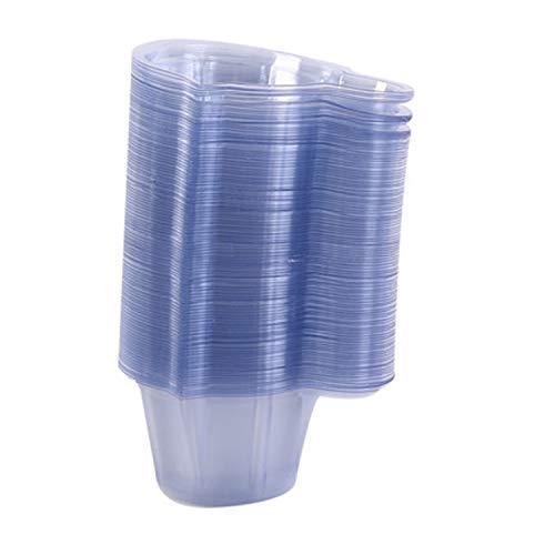 Urinbecher 100 Stück Urinprobenbecher 40ml Einweg-Urinprobenbecher aus Kunststoff für...