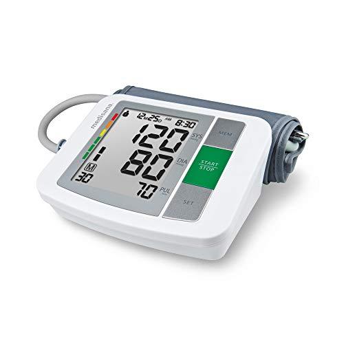 Medisana BU 510 Oberarm-Blutdruckmessgerät ohne Kabel, Arrhythmie-Anzeige, WHO-Ampel-Farbskala,...