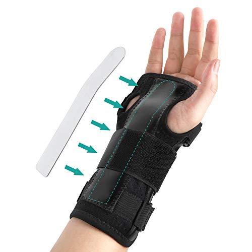 Handgelenkbandage Karpaltunnelsyndrom Schiene,Leicht Atmungsaktiv Handbandage Kompressionsband für...