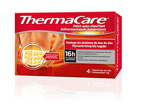 ThermaCare Wärmepflaster bei Schmerzen im unteren Rückenbereich – 8 Stunden konstante Wärme –...
