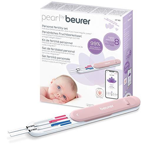 Pearl by Beurer Fruchtbarkeitsset OT 80, für Kinderwunsch und Familienplanung, Zyklustracking,...