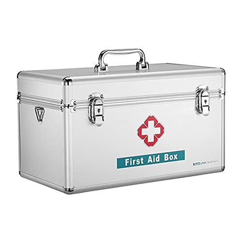 XIAOJU Alu Medizinkoffer - Erste Hilfe Koffer,...