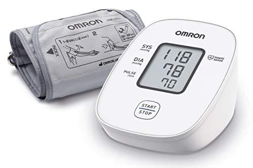 OMRON X2 Basic - Automatisches Blutdruckmessgerät für die Blutdrucküberwachung zu Hause