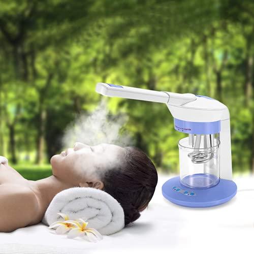 Gesichtssauna Gesichtsdampfer, nano Ionic facial steamer, porenreiniger skincare, Portable Table Top...